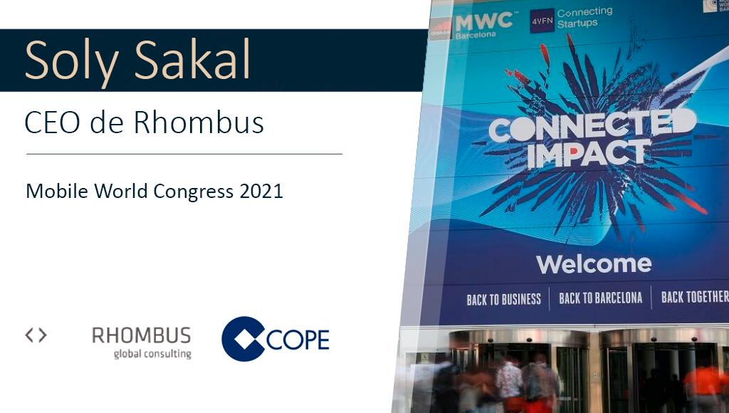 Soly Sakal, CEO de Rhombus, valora en COPE la edición del Mobile World Congress 2021